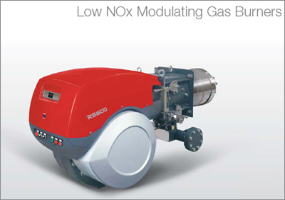 rs-600 low NOx Modulating Gas Burners